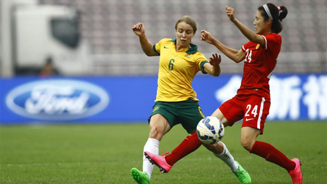 5 things learned: Matildas return to the pitch in China