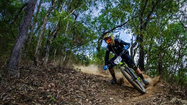 In the thick of it - Aus National Enduro Rd 1