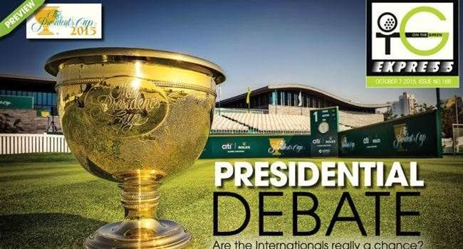OTG Express Issue 166: Presidents Cup preview