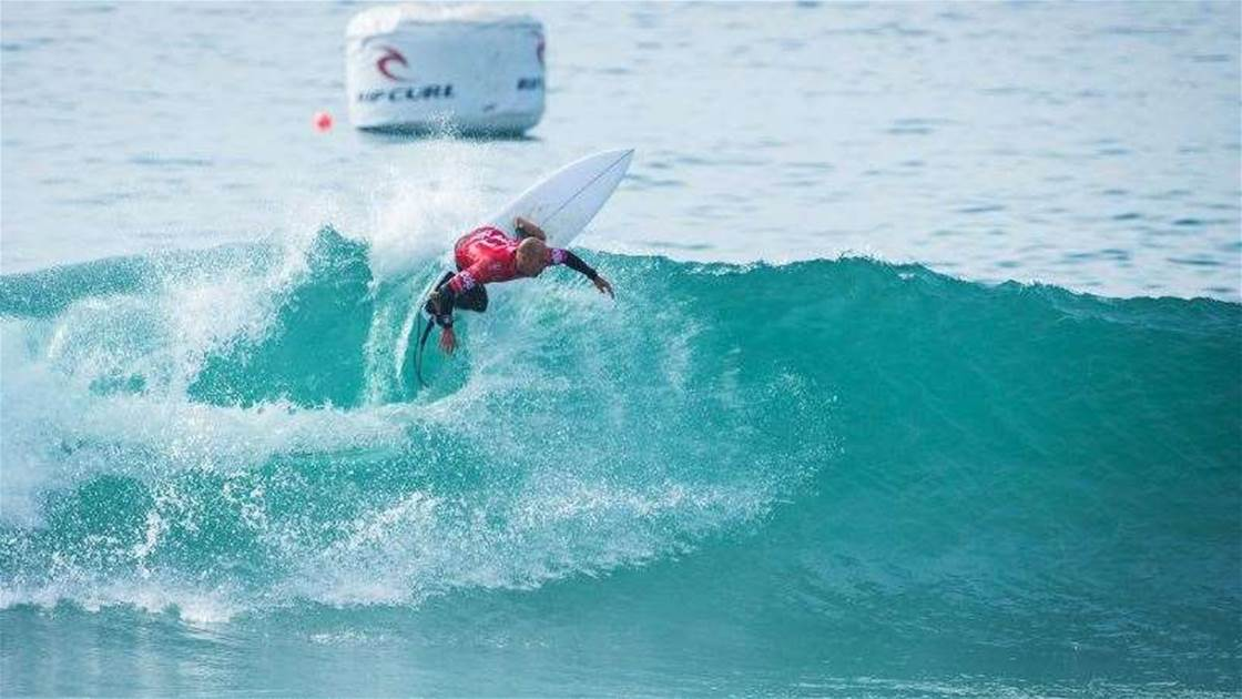 Moche Rip Curl Pro, Portugal: Kelly Gets Experimental