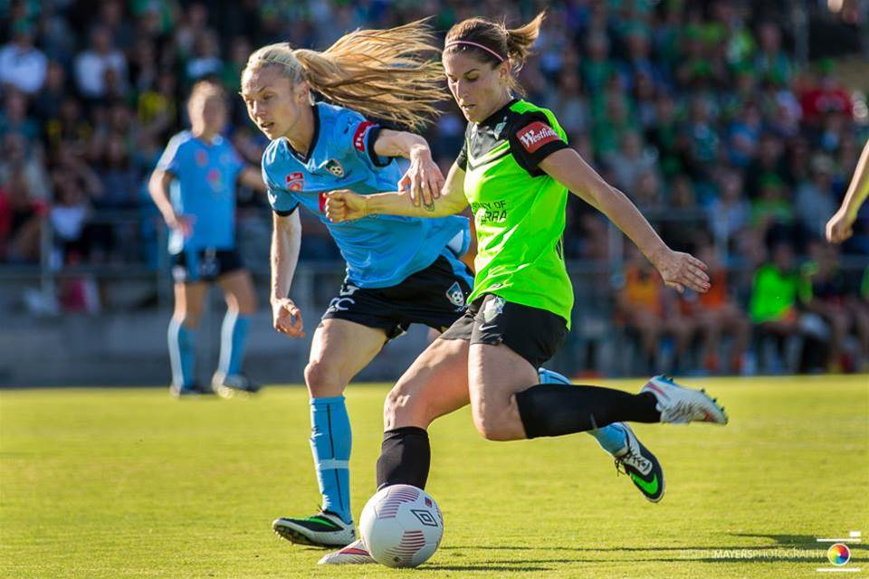 Canberra United collect first points with Sydney FC win