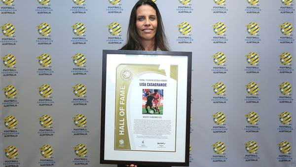 Lisa Casagrande inducted into Hall of Fame