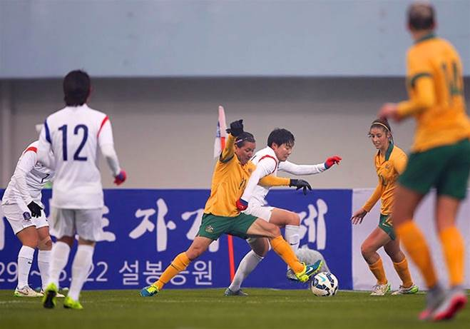 Australia defeat Korea Republic 1-0