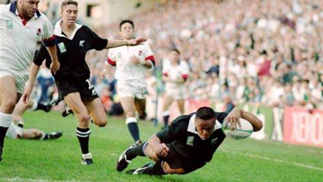 Celebrate the life of Jonah Lomu, rugby union's first true superstar