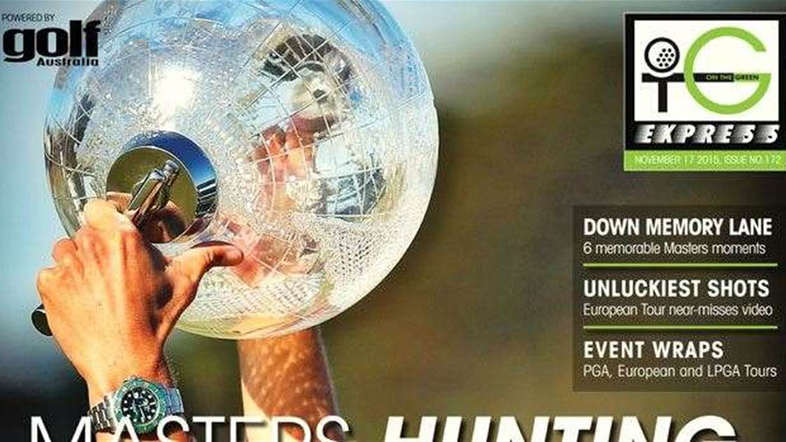 OTG Express Issue 172: Masters Hunt for Gold
