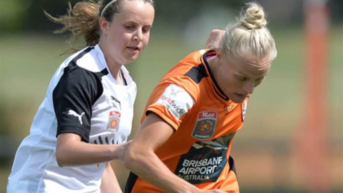 Adelaide United claim 2-1 away win over Brisbane Roar