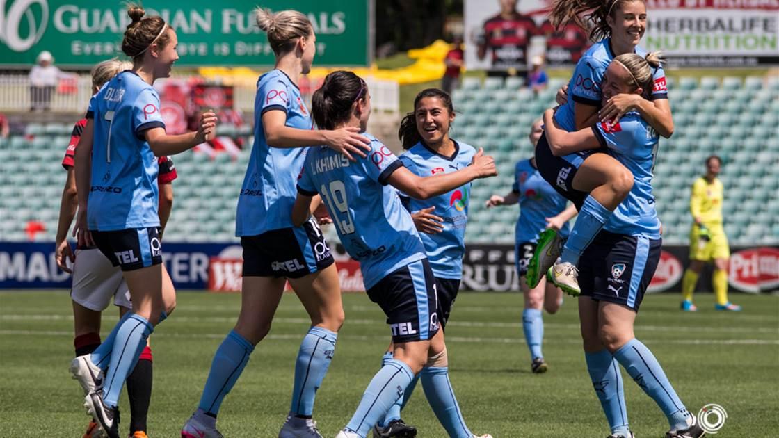 Khamis sparks Sydney FC derby win