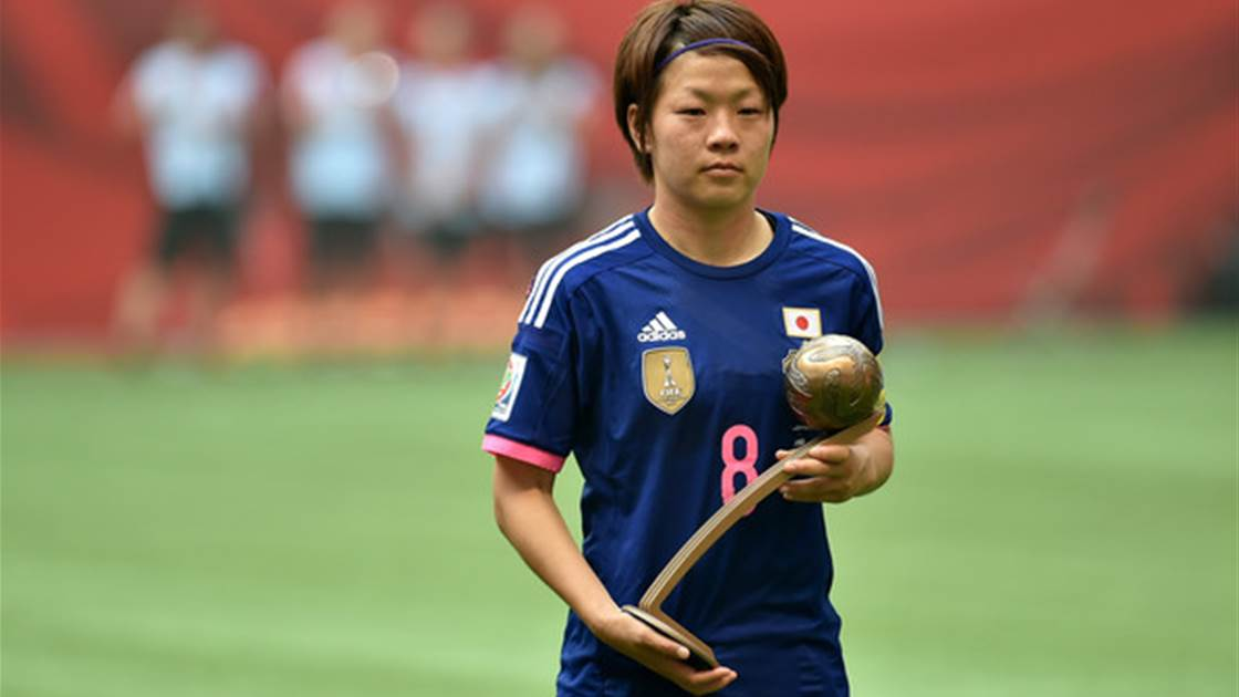 Aya Miyama named 2015 AFC Women's Player of the Year