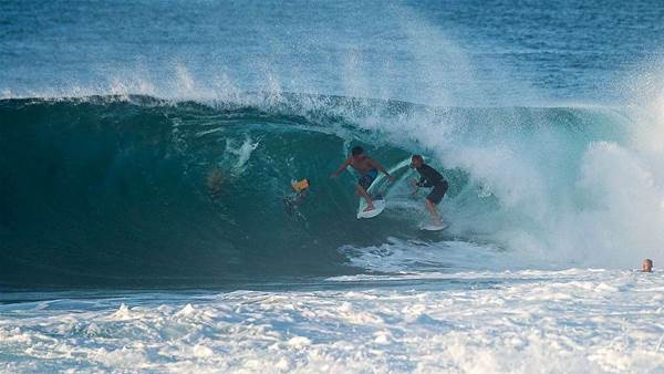 Photos: The Evening Before the Pipe Masters