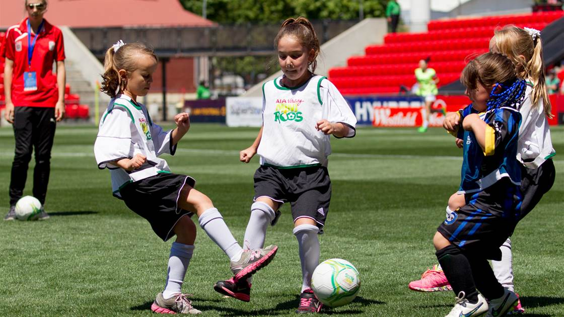 Girls football participation hits all time high