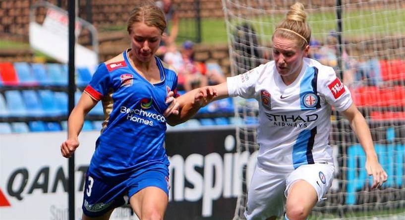 Melbourne City survive Newcastle Jets late charge