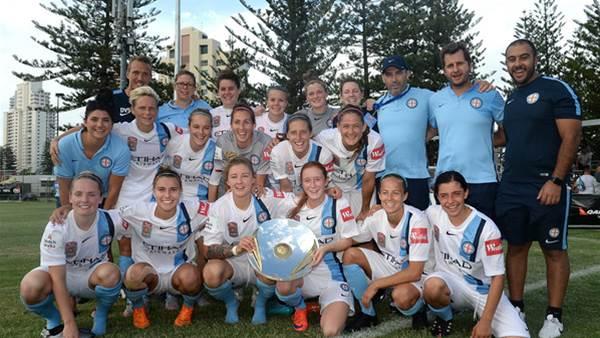 Brisbane Roar challenge but Melbourne City prevail to win W-League premiership
