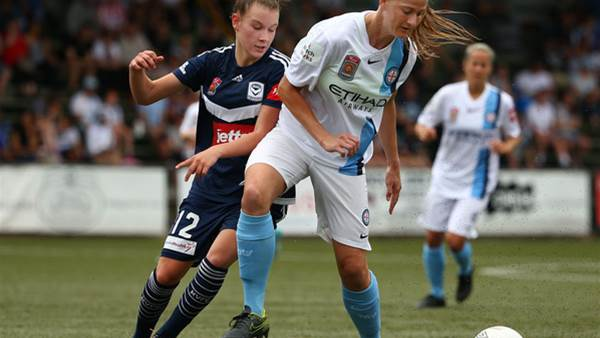 Crummer double fires Melbourne City to second Melbourne Derby win