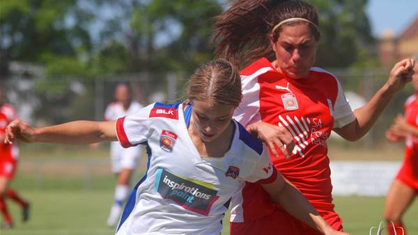 Adelaide United claim vital points with 5-1 win over Newcastle Jets
