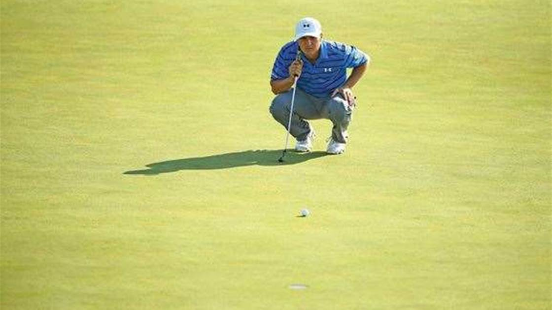 PUTTING: How Jordan Spieth putts under pressure