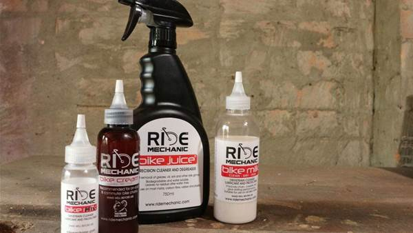 TESTED: Ride Mechanic lubricants and cleaners
