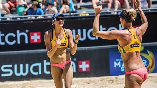 How Australia's beach volleyball women train