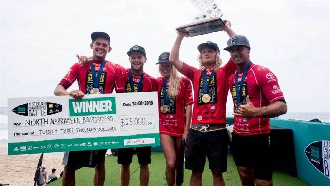 North Narrabeen Wins Australian Boardriders Battle