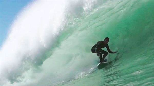Mr. Boonan Gets Tubed in Portugal