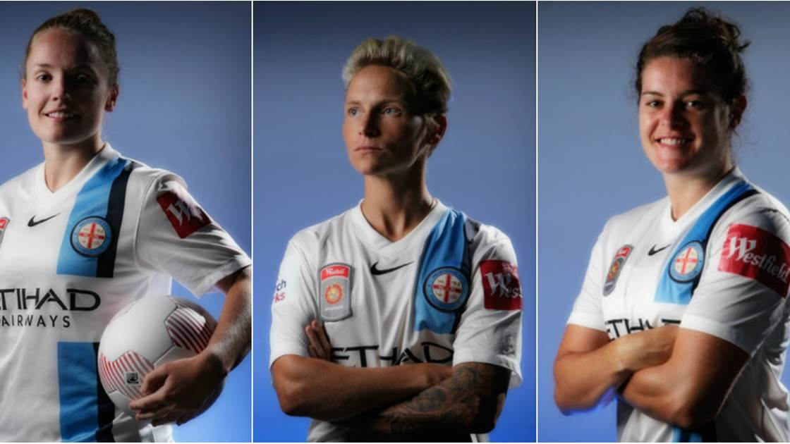 Fishlock, Little and Beattie on Melbourne City