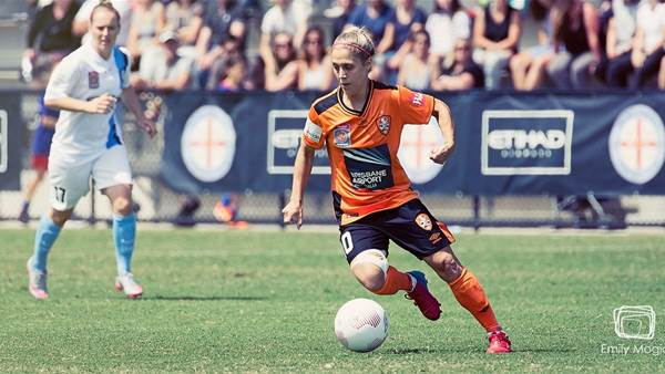 Katrina Gorry named PFA December 2015 Player of the Month