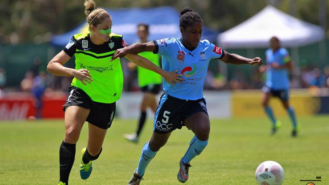 Sydney FC win through Grand Final amid controvesy in Canberra