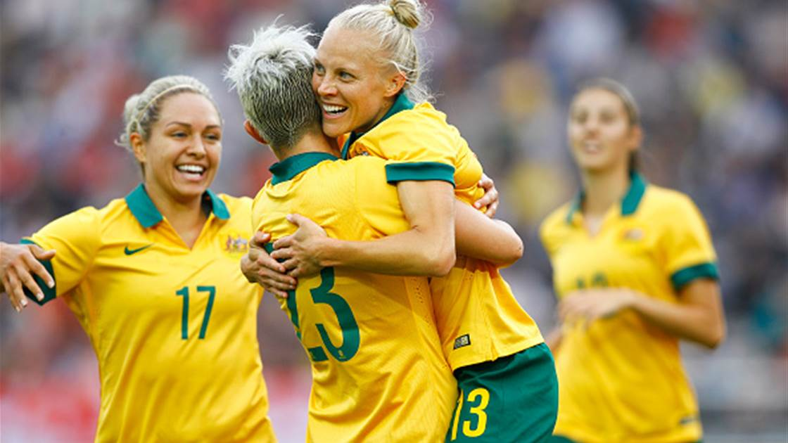 Matildas 20 play 2016 AFC Women's Olympic Qualifiers squad revealed