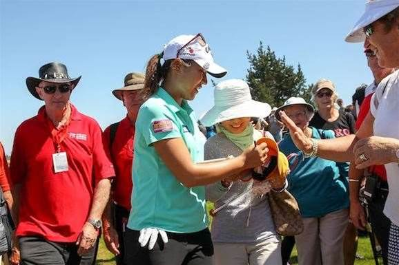 WOMEN'S OPEN: Webb's Olympic inspiration keeps her going