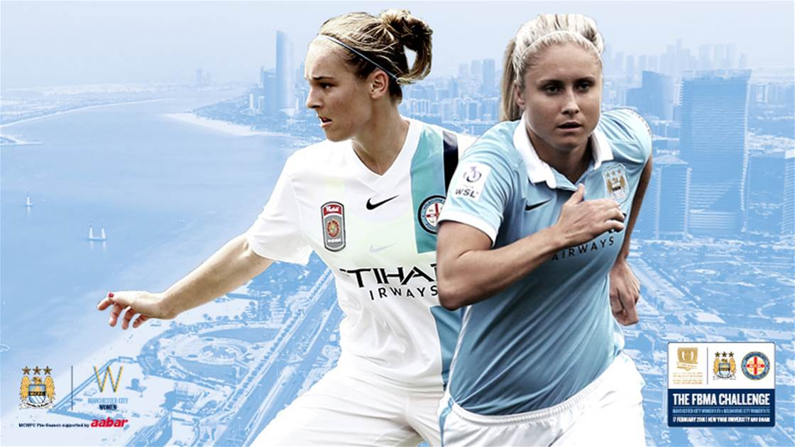 Melbourne City to play sister club Manchester City in Abu Dhabi