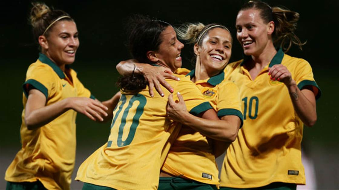 Matildas Olympic Qualifiers to be broadcast on 7 network