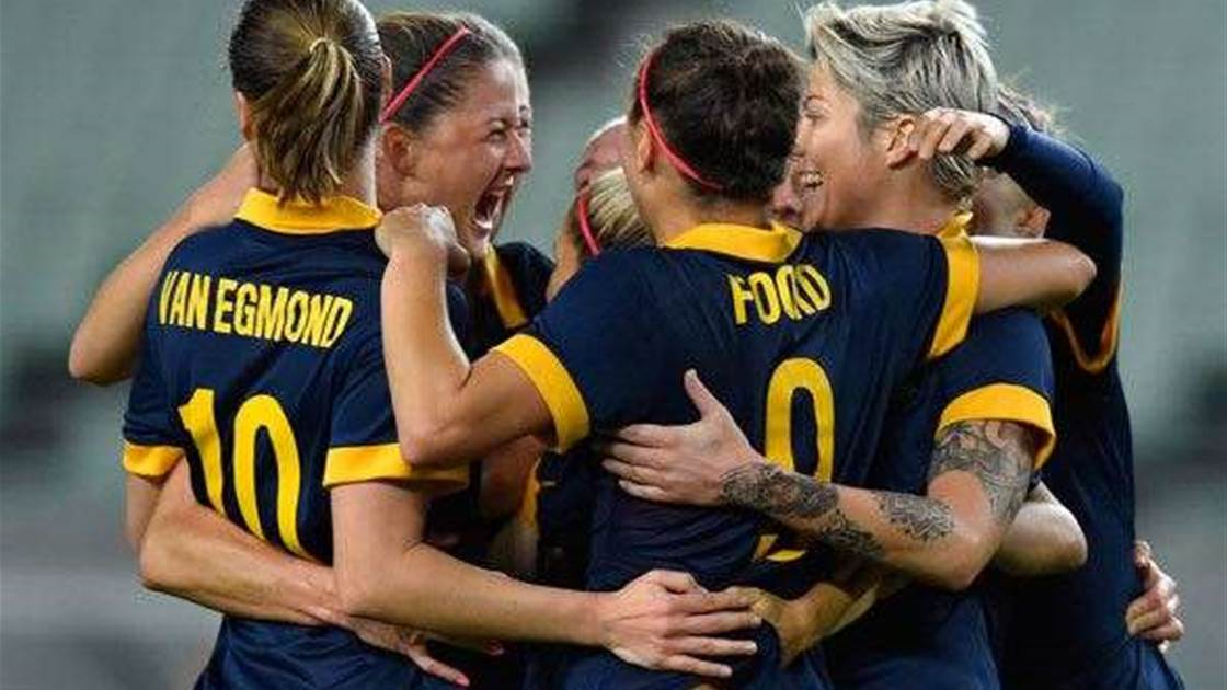 Next stop Rio Olympics for our brilliant Matildas!
