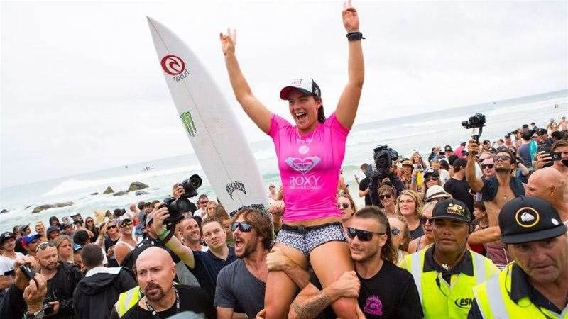 Tyler Wright Wins The 2016 Roxy Pro