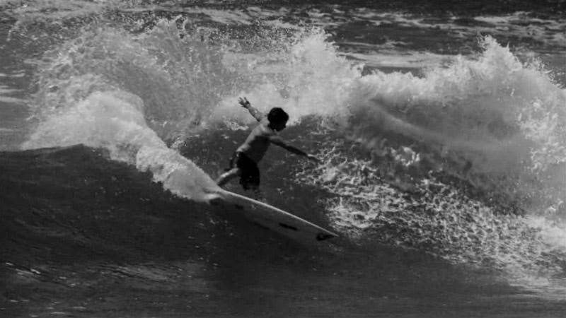 Jeremy Flores Raw in Black & White