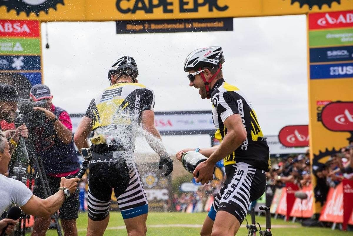 Karl Platt wins his 5th Cape Epic