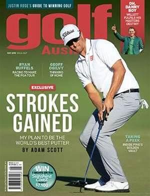Golf Australia May 2016