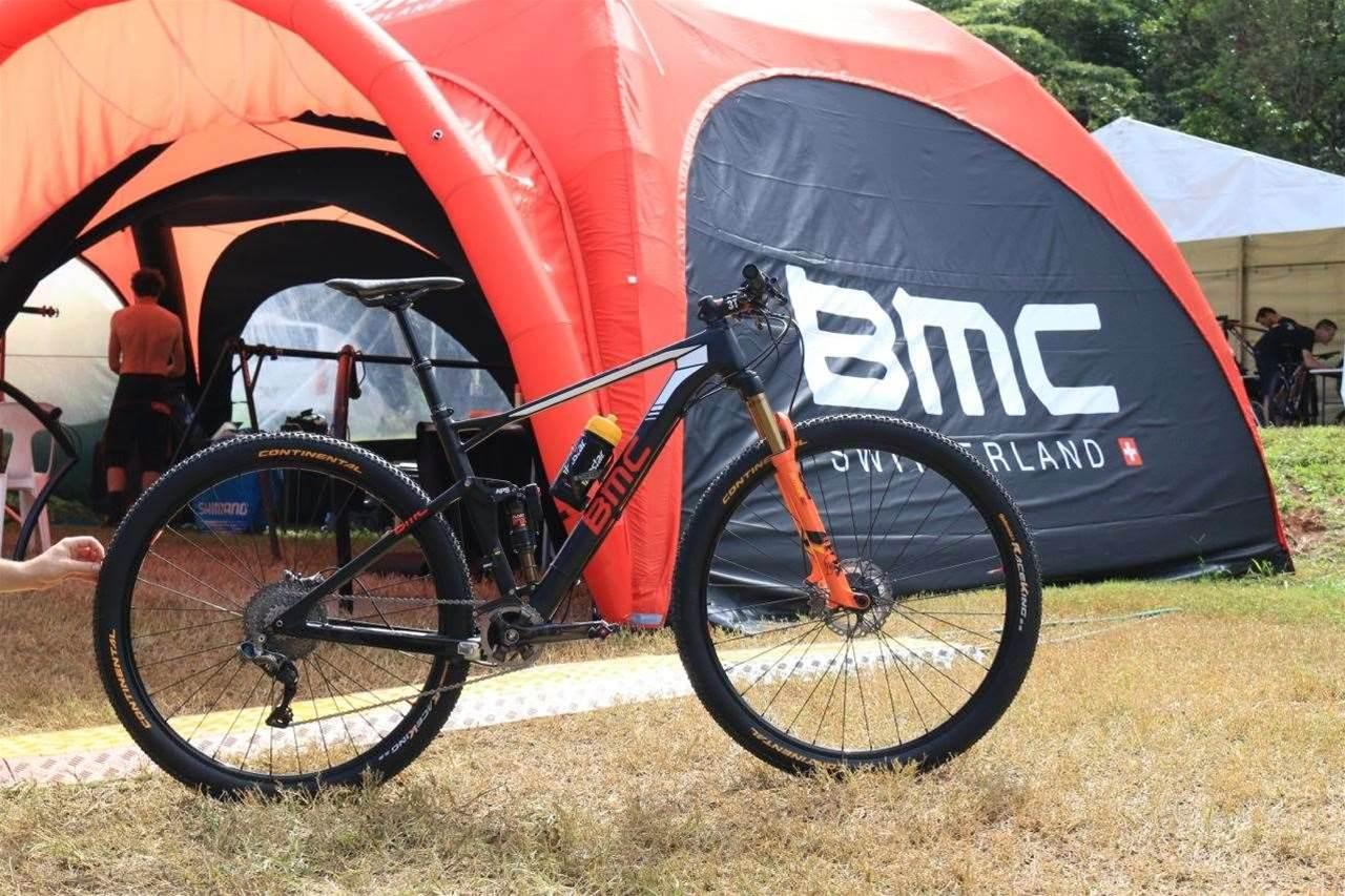 Cairns Bike Check: Julien Absalon's BMC Fourstroke