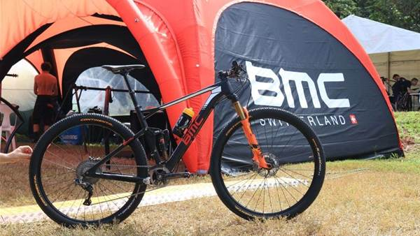 Cairns Bike Check: Julien Absalon's BMC Fourstroke