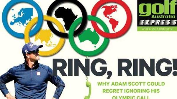 GA Express Issue 191: Defending Adam Scott's Olympic Snub