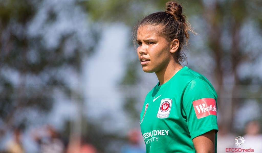 Jada Mathyssen-Whyman keeps goals in sight