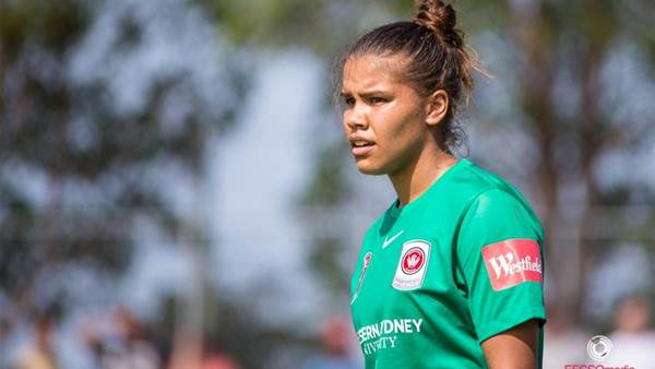 Jada Mathyssen-Whyman keeps goals in sight