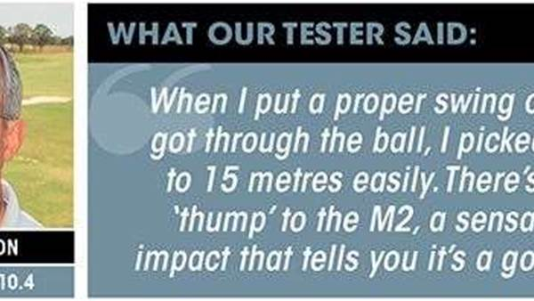 TESTED: TaylorMade M2 driver