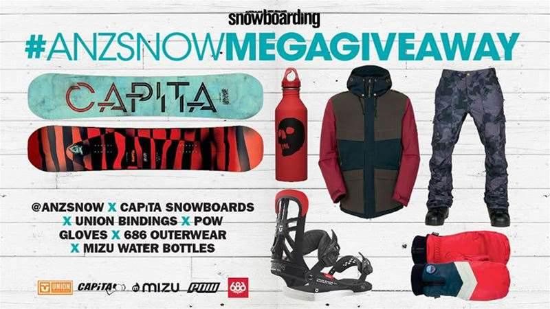 ANZ SNOW MEGA GIVEAWAY