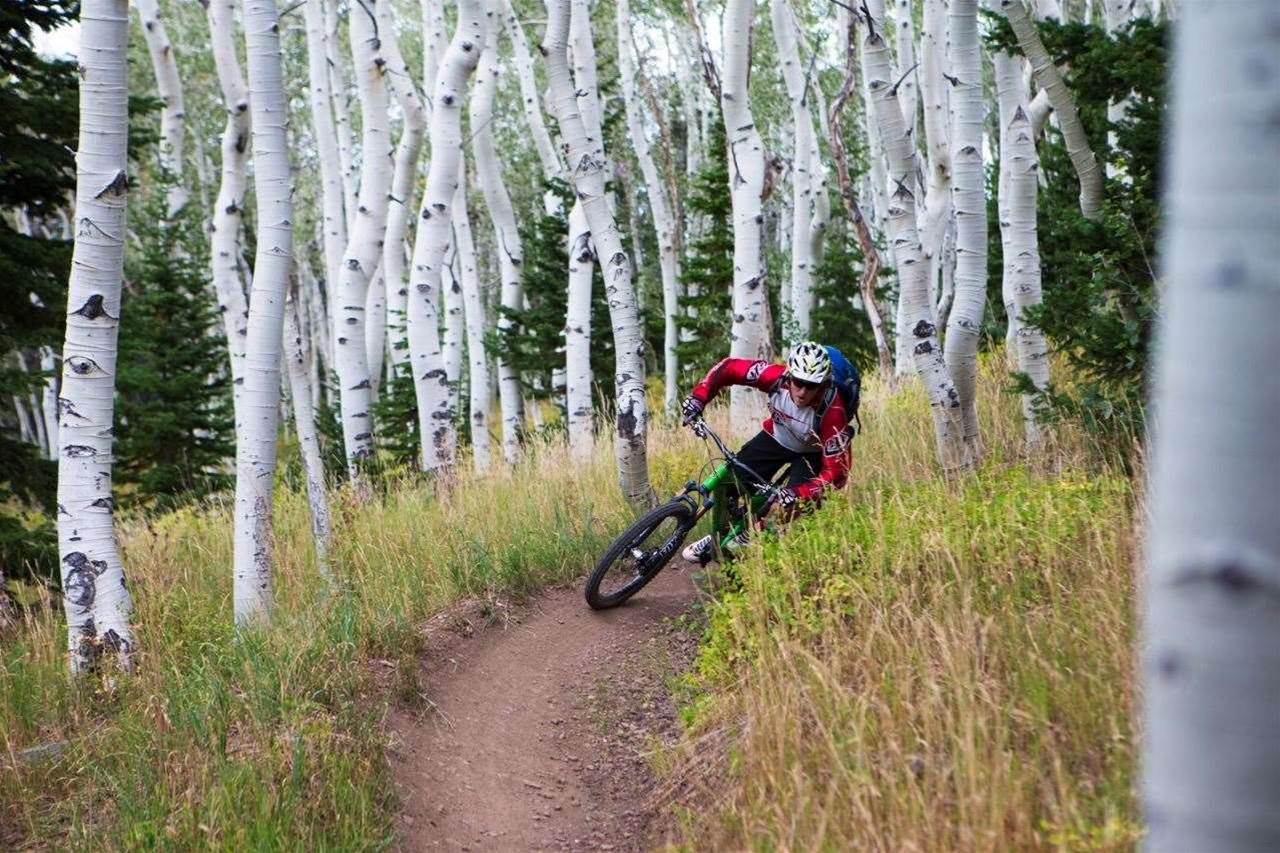 Park City - riding the golden singletrack