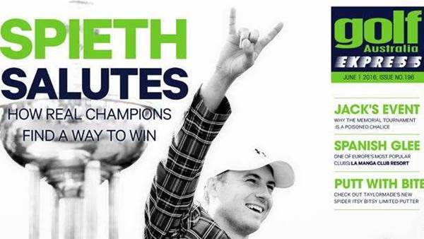 GA Express Issue 196: Spieth Salutes Again