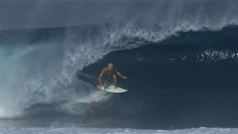 Slater goes Bananas at Cloudbreak