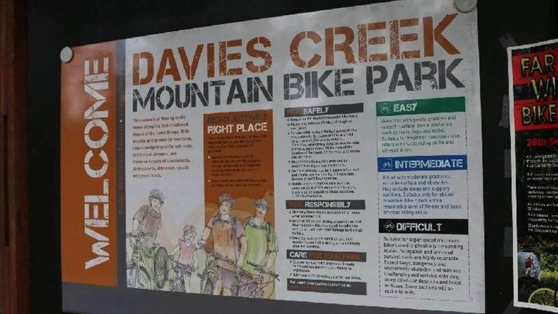 Ride Davies Creek
