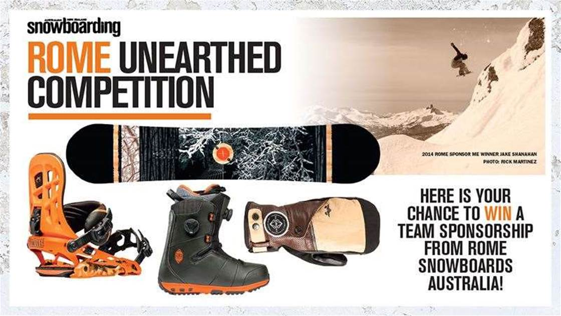 Rome Unearthed Competition - Win a Rome Sponsorship