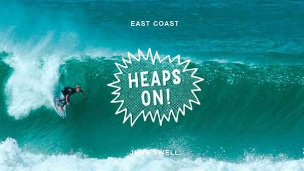 Heaps On! East Coast Swell: Part One