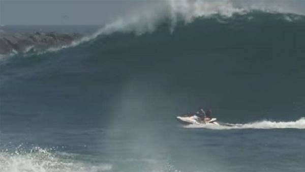 Fantastically Dumb Jet Ski Crash at the Wedge!