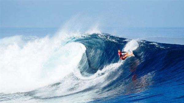 Gabriel Medina Ices the Fiji Pro